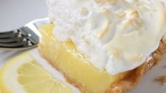 Fresh lemon juice and lemon zest make this lemon meringue pie filling tart and lovely. And when it's poured into a waiting crust, topped with billows of meringue, and baked, it's downright dreamy.