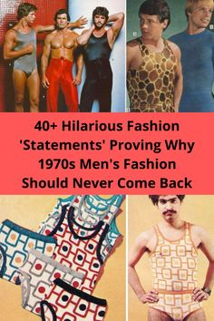 If you are someone who grew up in the 1970s, then you know how wacky the fashion trends were back then. As with many fashion trends, eventually what was popular in the past finds a way of making it back around into popular usage in our society. Hopefully that is not the case with many of these trends.