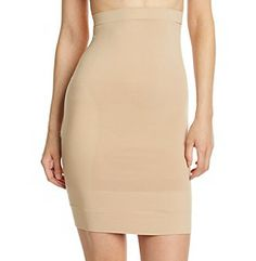 Bridal Shapewear | ASSETS® Red Hot Label™ by Spanx Focused Firmers Hi Waist Half Slip available at Herberger's.