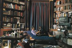 I would LOVE a home library like Keith Richards'