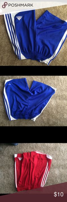 Adidas shorts men Worn a few times. In good condition. 3 Adidas shorts men size s 1 Nike short men size s   All for $10 adidas Shorts Athletic
