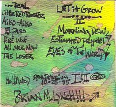 """Florida Dead"", Grateful Dead @The Sportatorium 10-25-1985 Pembroke Pines Florida, original cassette tape case art"