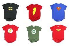 Super hero onesies