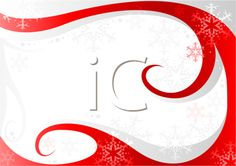 iCLIPART - Royalty Free Clipart Image of Swirls, Snowflakes and Stars