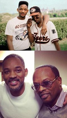 Jazzy Jeff & The Fresh Prince then + now. Just awesome.