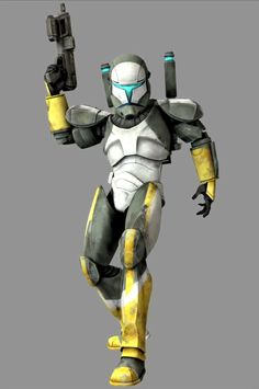 Scorch: Was an elite clone commando who was part of Delta Squad during the Clone Wars.