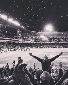 The Boleyn captured by a fan last night. It's going to be some farewell.. #WHUFC