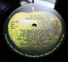 THE BEATLES White Album 1978 UK APPLE *COMPLETE* - NEAR MINT