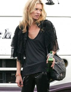 Glastonbury 2015: Kate Moss | @andwhatelse