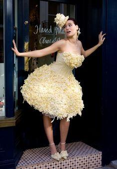 White Chocolate Wedding Dress...umm, yes please!
