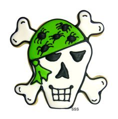 Skull and Crossbones Cookie Cutter - coppergifts.com