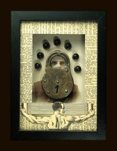 Mixed Media Assemblage by roxnorthh, via Flickr