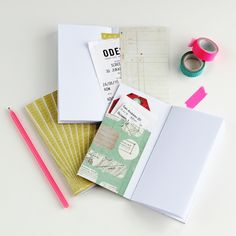 Diy Pocket Notebooks. http://www.gatheringbeauty.com/2015/07/diy-pocket-notebooks.html