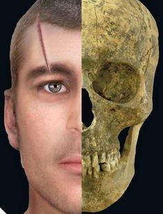 Facial reconstructions show how murdered 6th century men and women might have looked