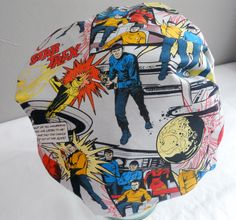 Shower Cap Comic Book Geeky Space Print - Rockabilly Bath and Beauty Hat by GildedXRoseXStudio on Etsy https://www.etsy.com/uk/listing/124929077/shower-cap-comic-book-geeky-space-print