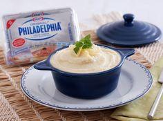 Receita de Purê de Batata - batata, cream cheese, leite, parmesão, sal