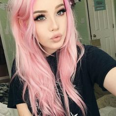 Women Pink Wigs Lace Front Hair Kylie Jenner Pink Wig Kim K Pink Hair Pink Hair Dryer – chiveral Pink Hair Dye, Hot Pink Hair, Pastel Pink Hair, Hair Color Pink, Dye My Hair, New Hair, Pink Wig, Gray Hair, Weird Hair Colors
