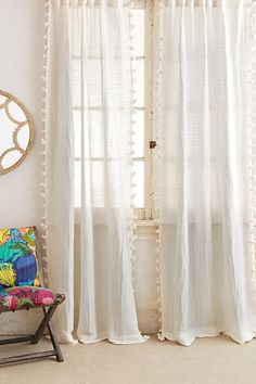 Pom Tassel Curtain from Anthro - contender?