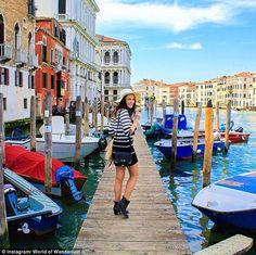 'Sometimes I go to bed and have no idea where I will end up the next day': Meet the 23-year-old travelling the world FULL-TIME by herself... and getting paid to do it