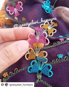 Tatting, Needle Lace, Bargello, Couture, Diy And Crafts, Crochet Earrings, Like4like, Crochet Patterns, Instagram