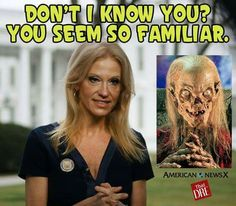I think this might be a bit insulting to the Cript Keeper.  Kelly Ann CONway