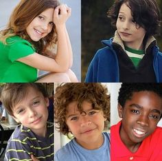Stranger things kids when they were younger. Stranger Things Actors, Stranger Things Funny, Stranger Things Netflix, It Movie 2017 Cast, Duffer Brothers, Stranger Danger, Don T Lie, Cutest Thing Ever, Best Tv