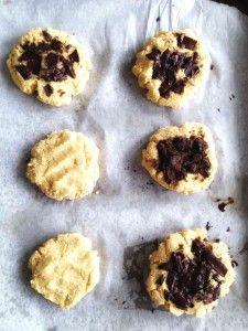 Chocolate Chunk Cookies (vegan & gf)