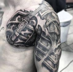 Tattoo Of Armor For Men