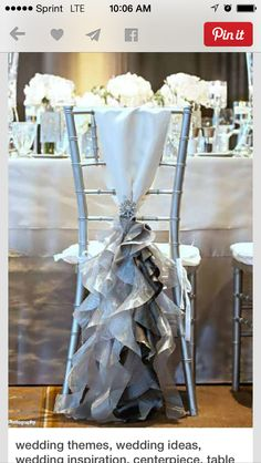 Beautiful for the brides chair