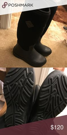 MUCK BOOT COMPANY ARCTIC WEEKEND WOMENS BOOTS BLACK PINK SZ 6 7 8 ...