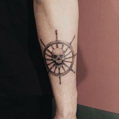 New Tattoo Forearm Skull Tat Ideas Cool Forearm Tattoos, Foot Tattoos, Body Art Tattoos, Small Tattoos, Sleeve Tattoos, Simple Tattoo Fonts, Tattoo Font For Men, Go Tattoo, Mermaid Tattoos