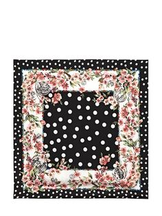 Previous     Next      ACCESSORIES     SCARVES & FOULARDS  DOLCE & GABBANA  DOTTED SILK TWILL SQUARE SCARF - http://lustfab.com/shop-lust/previous-next-accessories-scarves-foulards-dolce-gabbana-dotted-silk-twill-square-scarf/