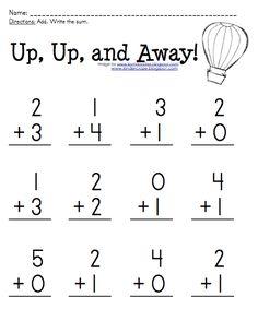 math worksheet : kindergarten addition worksheets 1 and 2  preschool  pinterest  : Kindergarten 2 Worksheets