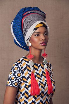 headress ~Latest African Fashion, African Prints, African fashion styles, African clothing, Nigerian style, Ghanaian fashion, African women dresses, African Bags, African shoes, Nigerian fashion, Ankara, Kitenge, Aso okè, Kenté, brocade. ~DKK