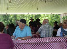 The picnic pavilion