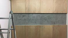 Umas portas na mão, cimento queimado na parede e uma cabeceira fodástica no seu quarto!