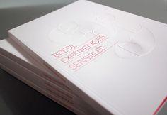 Brésil expériences sensibles - book design by Les produits de l'épicerie