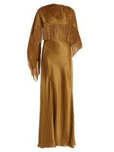 Marlene V-neck silk wrap dress | Gabriela Hearst | MATCHESFASHION.COM