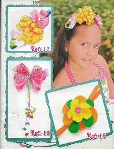 Revistas de manualidades Gratis: Revista de moños gratis