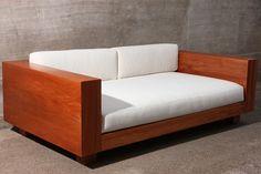 sofà de madera - Buscar con Google