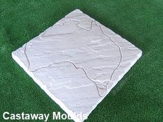 Yorkstone Australia Paver Mould for Patio Paving - Castaway Mouldings & Designs Store Concrete Paver Mold, Stepping Stone Pathway, Pathways, Outdoor Blanket, Patio, Map, Design, Paths, Location Map