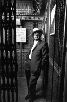 Ravageurs wear hats. | Eugène Ionesco by Henri Dauman