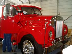 1955 mack truck  I would love to find one of these for my husband
