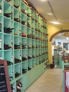 Enoteca. Wine Shop.