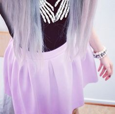 Kawaii pastel goth fashion