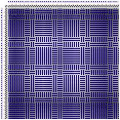 Hand Weaving Draft: