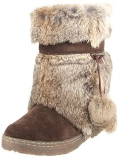 69b1fdb4bfd Bearpaw Women s Tama Rabbit Fur Boots     Find out more details by clicking  the image   Women s snow boots