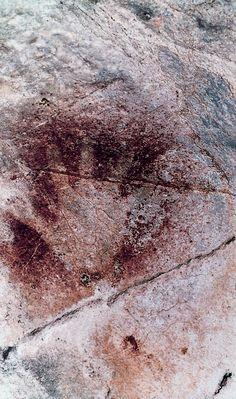 Pinturas rupestres en las cuevas de  #Cantabria #Spain