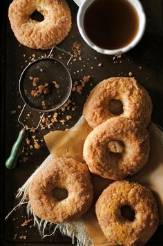 Baked Cinnamon & Sugar Doughnuts by How To: Simplify #recipe