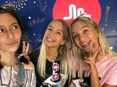 Lisa and Lena at musical.ly in Tokyo
